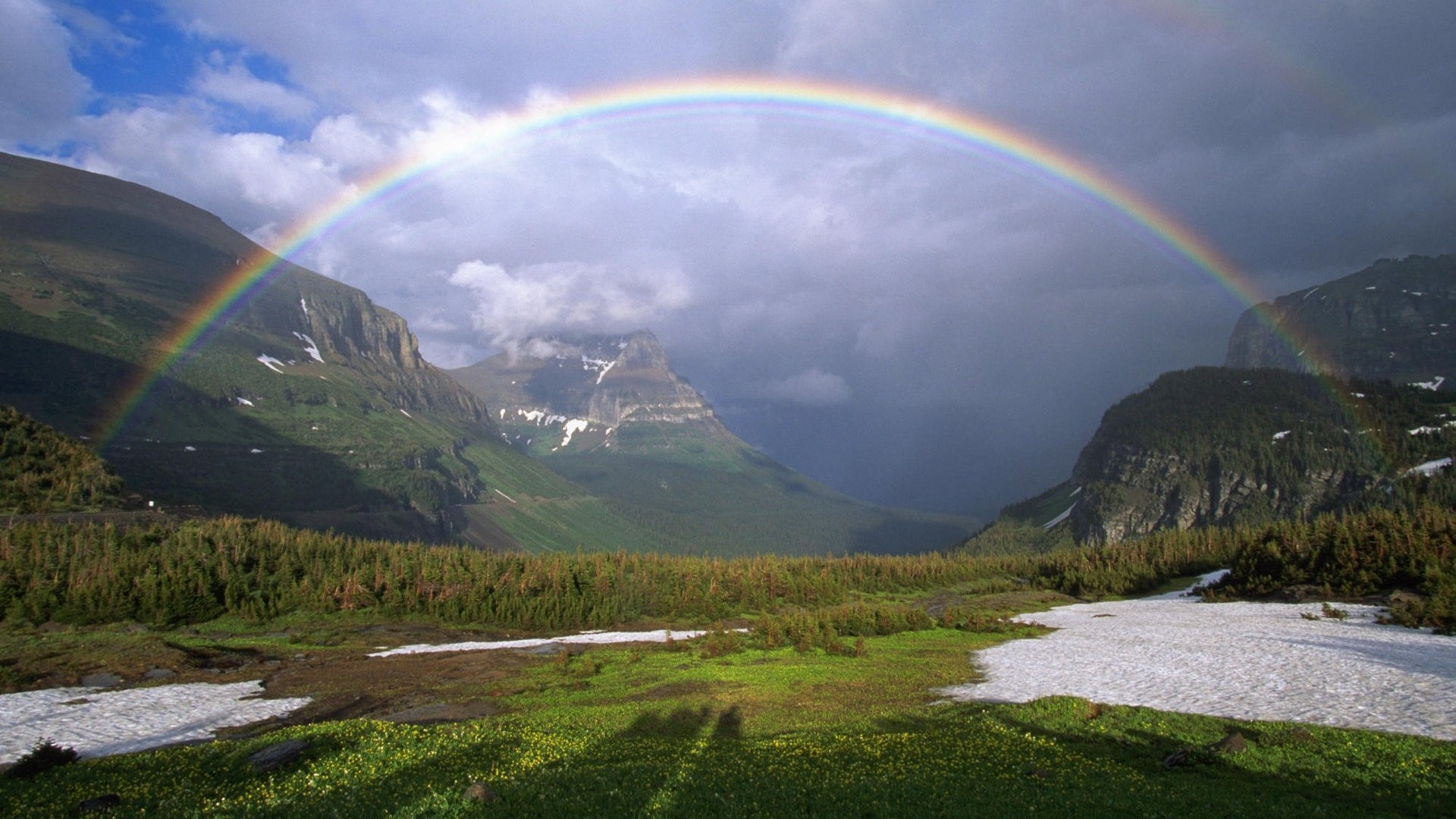 Picturesque High Resolution Rainbow Background - HD Wallpapers Picturesque